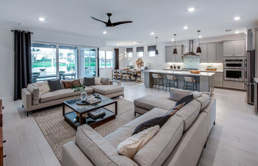 Living Area featured in the Stellar By Del Webb in Martin-St. Lucie-Okeechobee Counties, FL