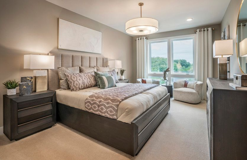 Bedroom featured in the Arcola By Del Webb in Morris County, NJ
