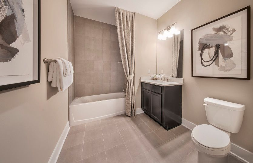 Bathroom featured in the Arcola By Del Webb in Morris County, NJ