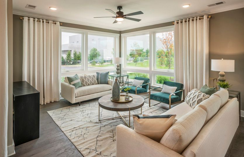 Living Area featured in the Brooklake By Del Webb in Morris County, NJ