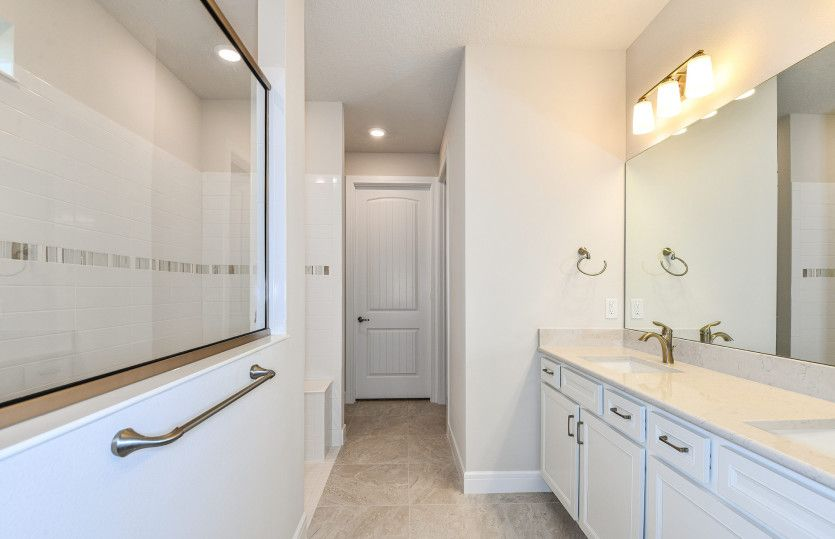 Bathroom featured in the Mystique By Del Webb in Ocala, FL