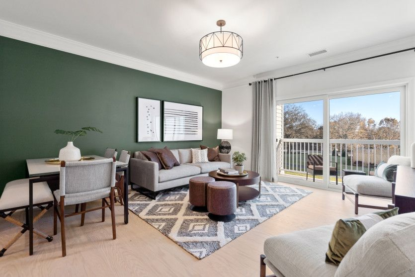 Living Area featured in the Morris By Del Webb in Worcester, MA