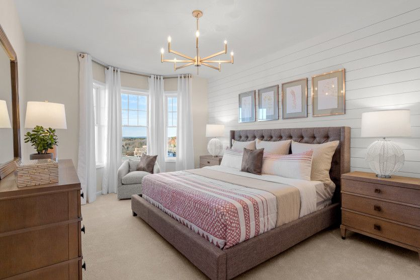 Bedroom featured in the Jefferson By Del Webb in Worcester, MA