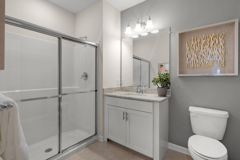 Bathroom featured in the Jefferson By Del Webb in Worcester, MA