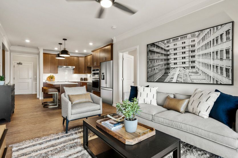 Living Area featured in the Hampton By Del Webb in Worcester, MA