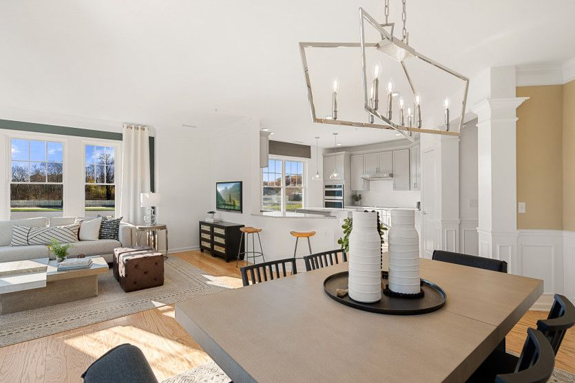 Living Area featured in the Innsbrook By Del Webb in Worcester, MA