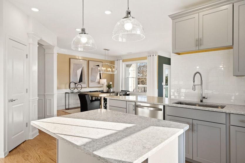 Kitchen featured in the Innsbrook By Del Webb in Worcester, MA