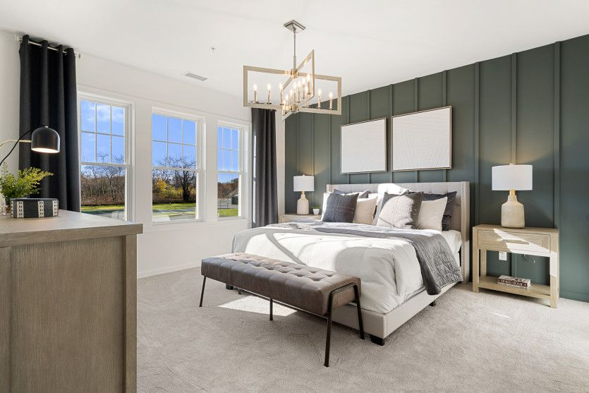 Bedroom featured in the Innsbrook By Del Webb in Worcester, MA