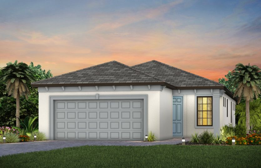 Exterior featured in the Contour By Del Webb in Sarasota-Bradenton, FL
