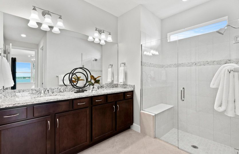 Bathroom featured in the Hallmark By Del Webb in Sarasota-Bradenton, FL