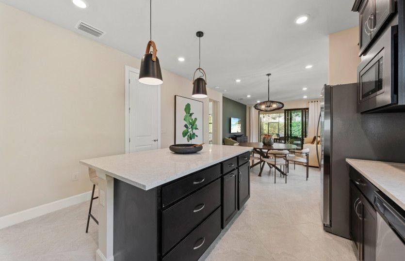 Kitchen featured in the Contour By Del Webb in Naples, FL