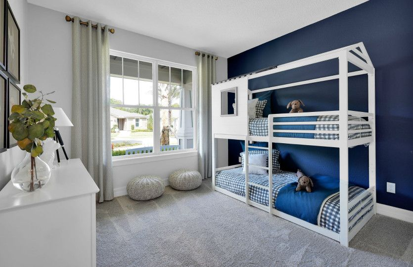 Bedroom featured in the Mystique By Del Webb in Indianapolis, IN