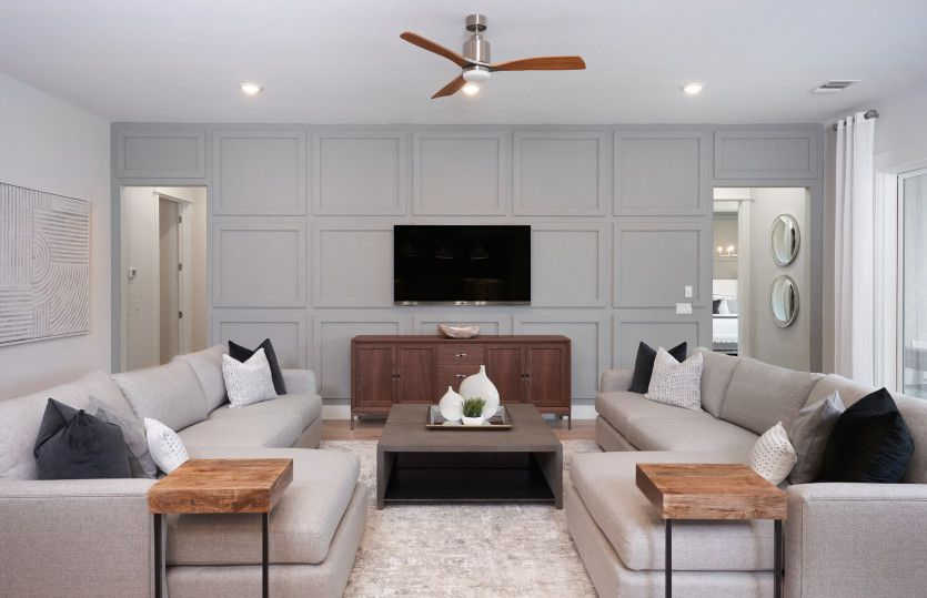 Living Area featured in the Stellar By Del Webb in Indianapolis, IN