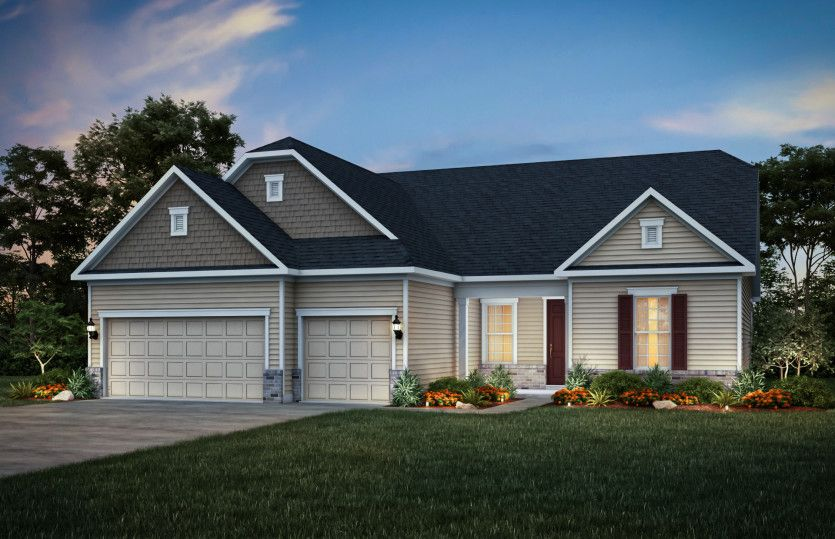 Exterior featured in the Stellar By Del Webb in Indianapolis, IN