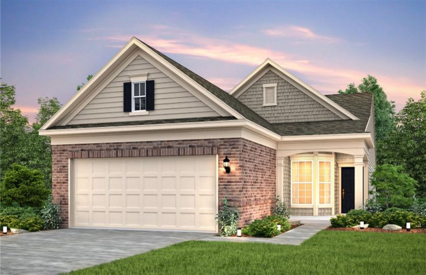 Exterior featured in the Taft Street By Del Webb in Athens, GA