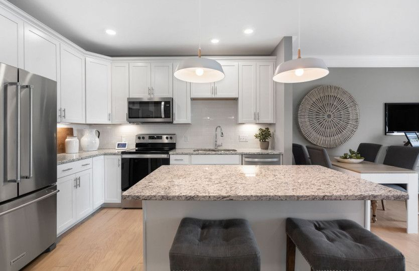 Kitchen featured in the Jefferson By Del Webb in Worcester, MA