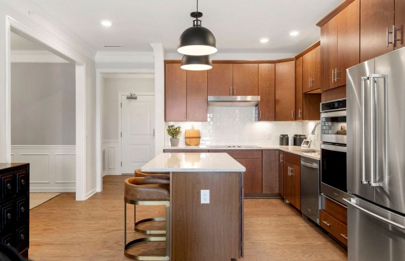 Kitchen featured in the Hampton By Del Webb in Worcester, MA