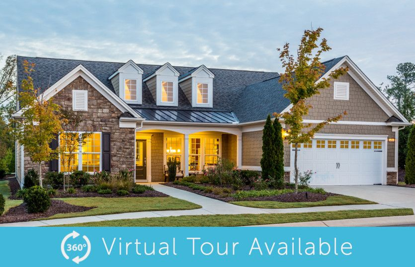 Exterior featured in the Pinnacle - Tangerly Oak By Del Webb in Nashville, TN