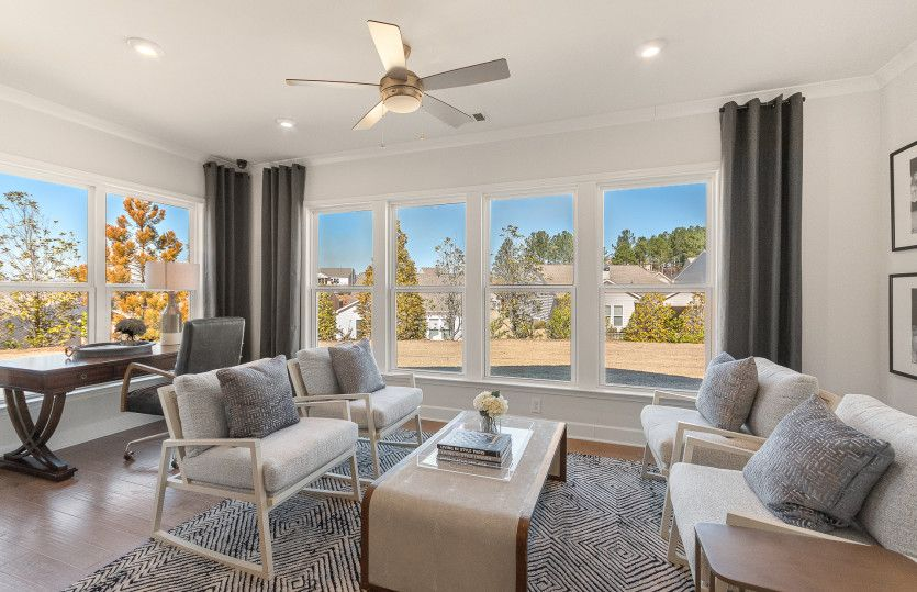 Living Area featured in the Sonoma Cove By Del Webb in Athens, GA