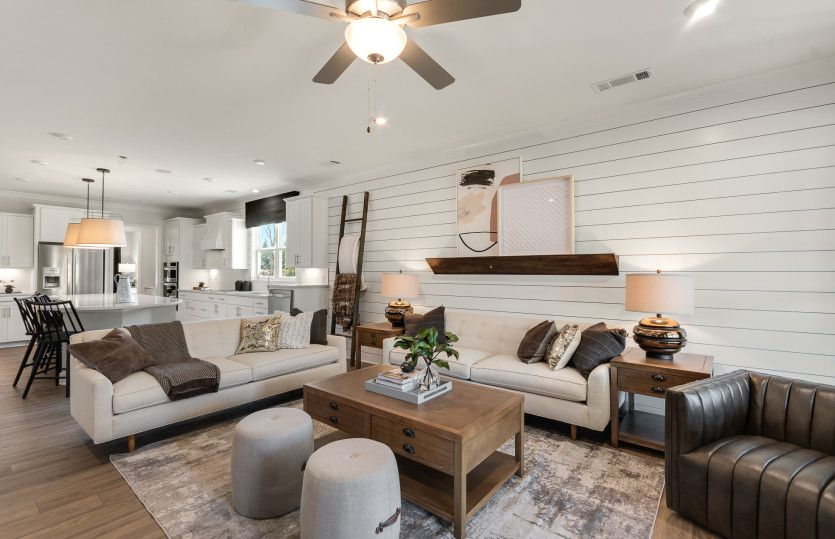 Living Area featured in the Martin Ray By Del Webb in Athens, GA