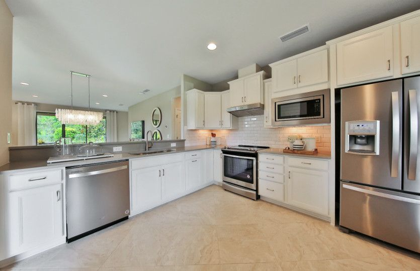 Kitchen featured in the Noir Coast By Del Webb in Athens, GA