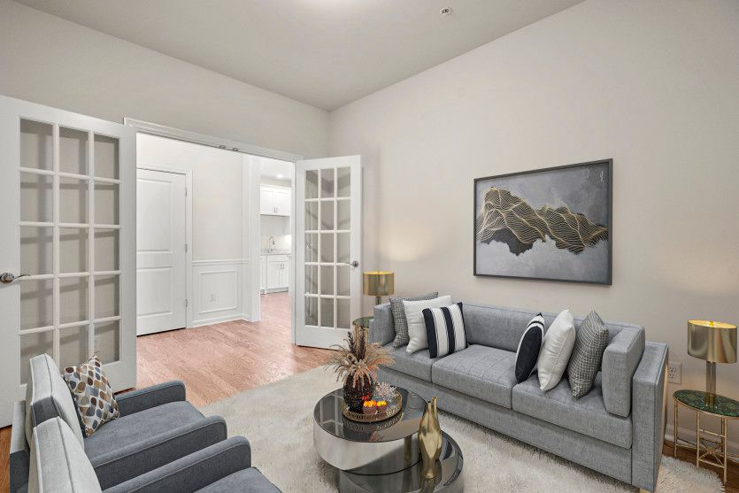 Living Area featured in the Kirkwood By Del Webb in Worcester, MA
