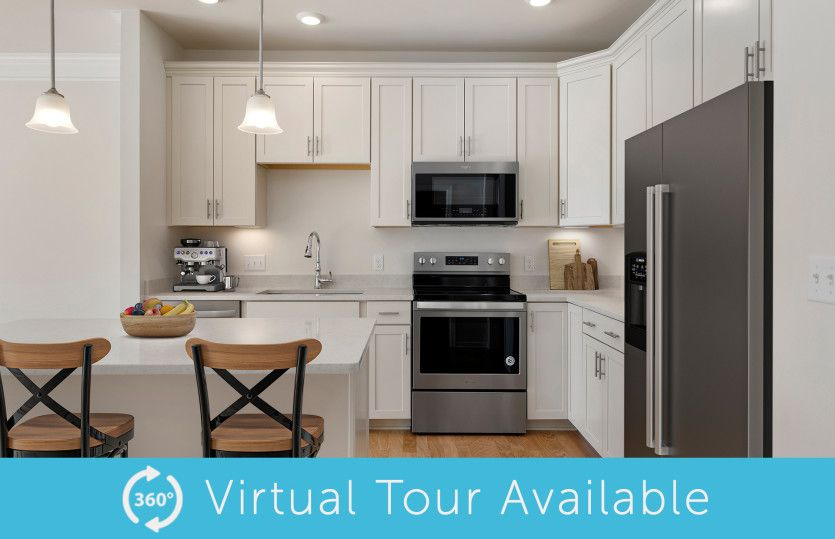 Kitchen featured in the Chandler By Del Webb in Worcester, MA