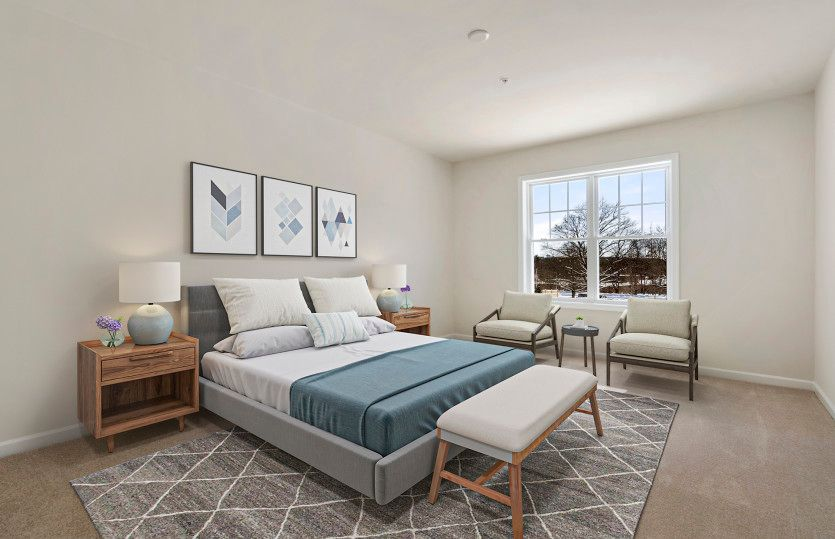 Bedroom featured in the Chandler By Del Webb in Worcester, MA
