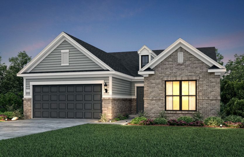 Exterior featured in the Summerwood By Del Webb in Athens, GA