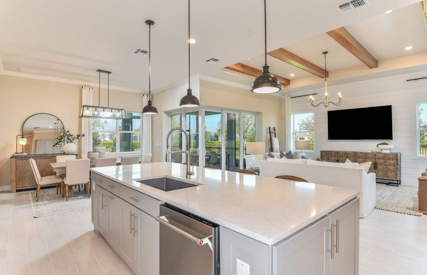 Living Area featured in the Renown By Del Webb in Tampa-St. Petersburg, FL