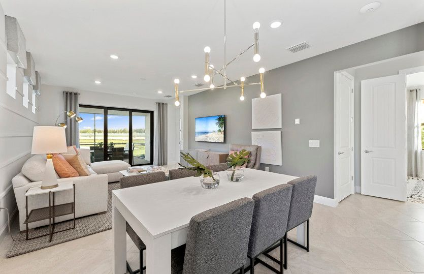 Living Area featured in the Hallmark By Del Webb in Naples, FL