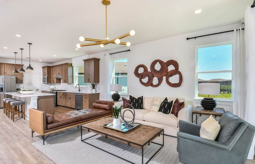 Living Area featured in the Mainstay Grand By Del Webb in Tampa-St. Petersburg, FL