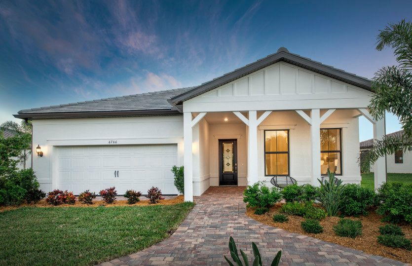 Exterior featured in the Prestige By Del Webb in Naples, FL