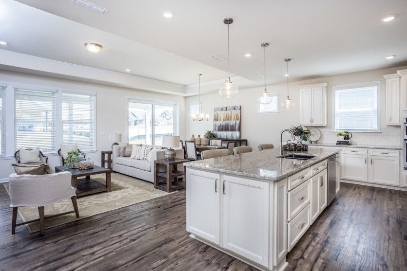 Living Area featured in the Palmary By Del Webb in Raleigh-Durham-Chapel Hill, NC