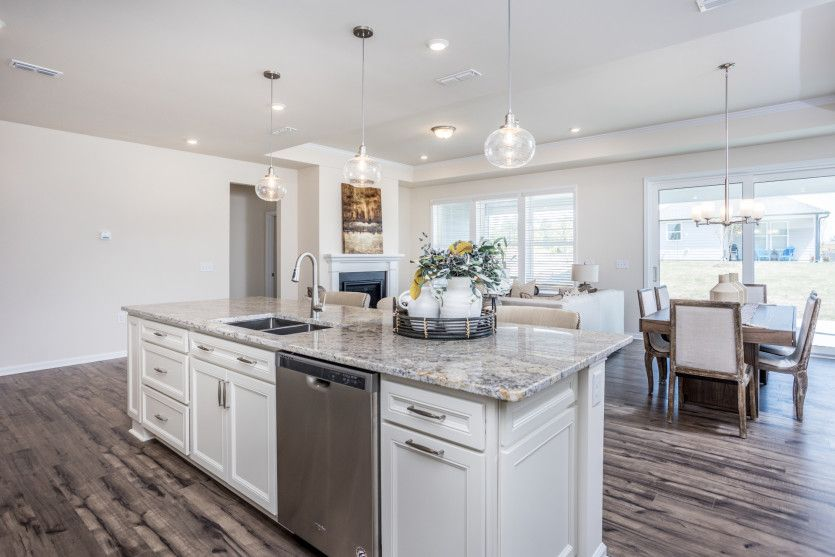 Kitchen featured in the Palmary By Del Webb in Raleigh-Durham-Chapel Hill, NC