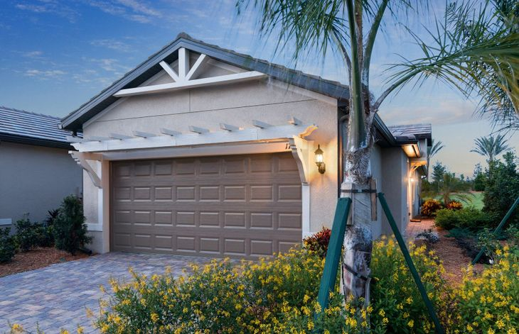 Serenity:Home Exterior C1A with flat tile roof