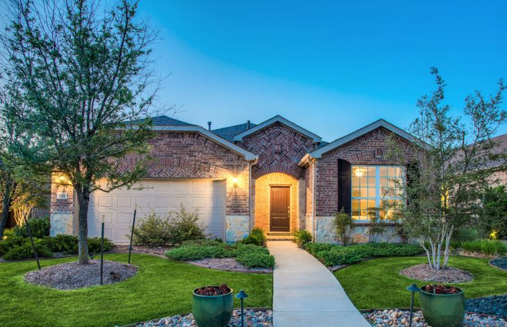 Abbeyville:Abbeyville with Exterior D Model Home