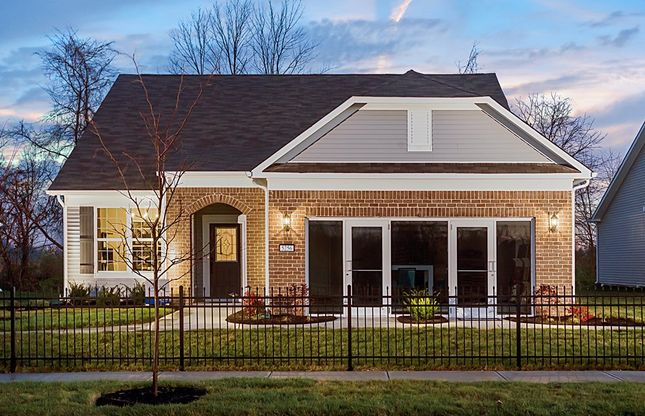 britton falls in fishers in new homes floor plans by del webb