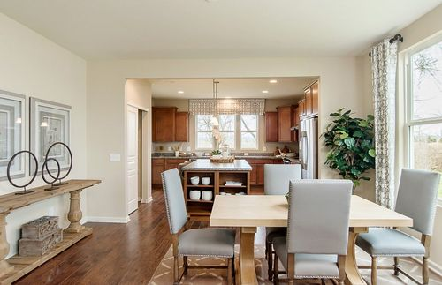 Kitchen-in-Passport-at-Vandalia by Del Webb-in-Plainfield