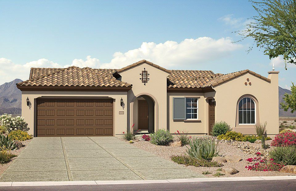 Del webb new home plans in phoenix mesa az newhomesource for Arizona house plans