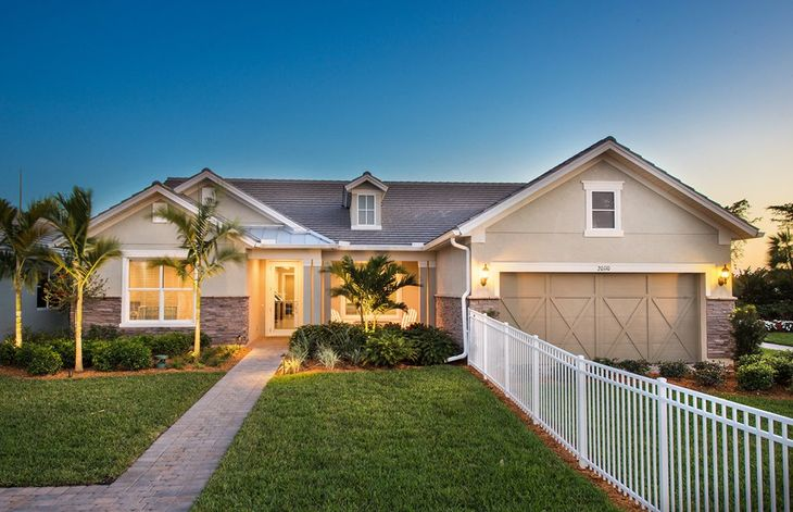 Tangerly Oak:Home Exterior LC2B with front porch