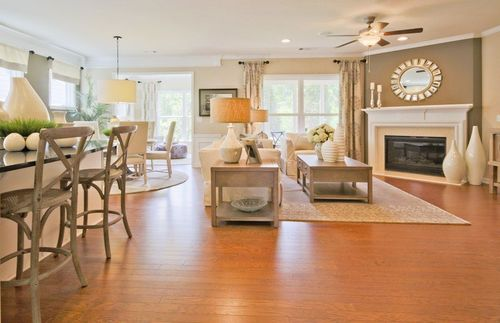 Greatroom-and-Dining-in-Abbeyville-at-Del Webb at Lake Oconee-in-Greensboro