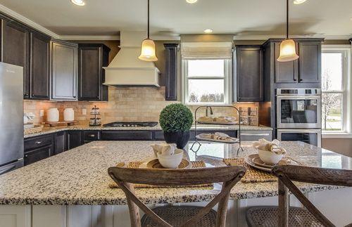 Kitchen-in-Abbeyville-at-Bridgewater-in-Brownstown
