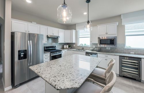 Kitchen-in-Cressida-at-Del Webb Tradition-in-Port Saint Lucie