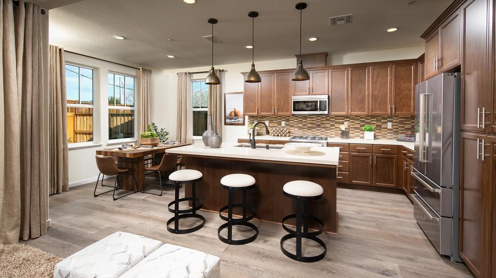 Kitchen-in-Residence 1-at-Daybreak at Brody Ranch-in-Petaluma