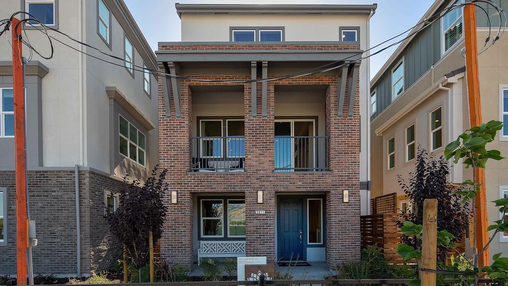 Exterior featured in the Residence 1 By DeNova Homes in San Jose, CA