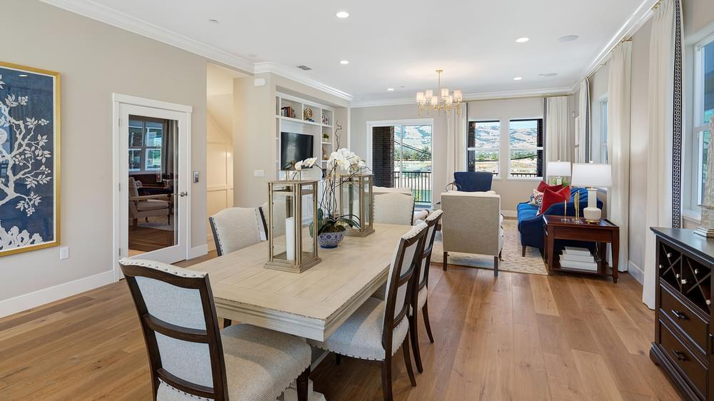 Living Area featured in the Residence 1 By DeNova Homes in San Jose, CA