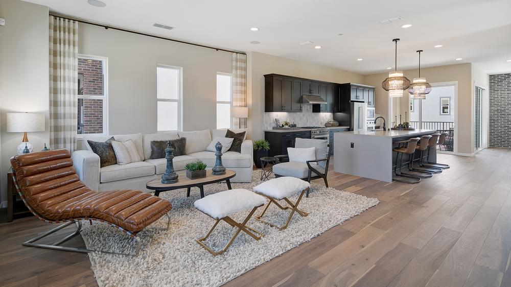 Living Area featured in the Residence 2 By DeNova Homes in San Jose, CA