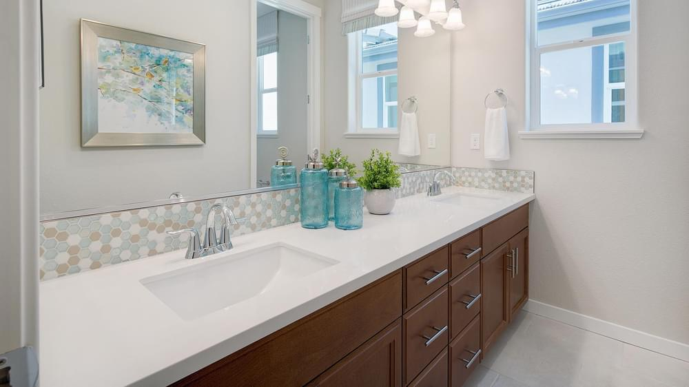 Bathroom featured in the Residence 3 By DeNova Homes in San Jose, CA