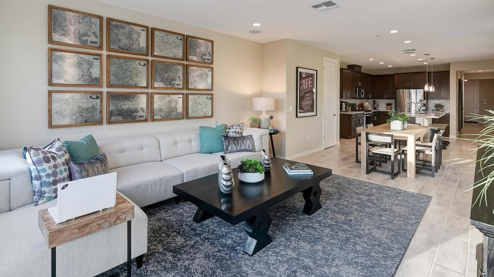 Living Area featured in the Residence 1 By DeNova Homes in Santa Cruz, CA